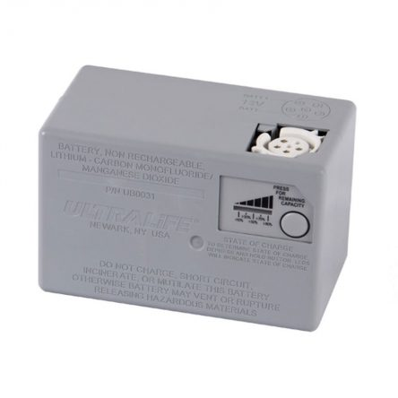Ultralife UBI-5390 Small Format High Capacity Non-rechargeable Battery